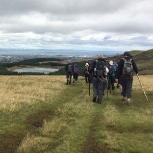 Guided walk in the Pentland Hills